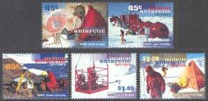 Australian Antarctic Territory 1997 Scott #L103a-L106 Mint Never Hinged