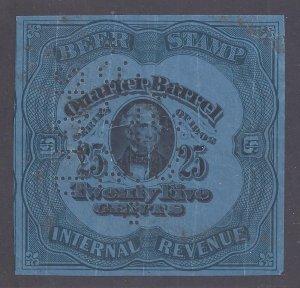 US Beer Stamp Scott #REA77D used VF