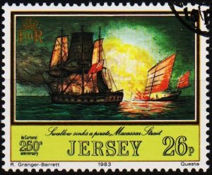 Jersey. 1983 26p S.G.308 Fine Used