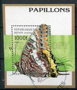 265995 BENIN 1996 year used S/S butterfly