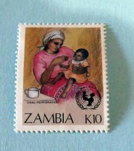 Zambia - 443, MNH. UN Child Survival. SCV - $2.50