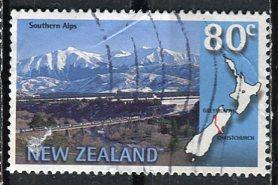 New Zealand: 1997: Sc. #: 1447, O/Used Single Stamp