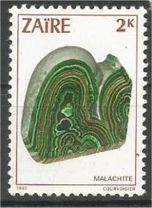 ZAIRE, 1983, MH 2k  Minerals, Scott 1102