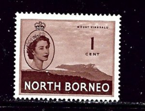 North Borneo 261 MH 1954 issue
