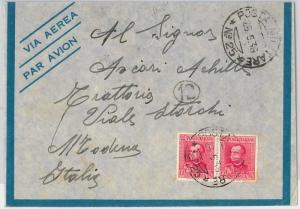 53403 - ERITREA  - Storia Postale: BUSTA con annullo POSTA MILITARE 25 1936