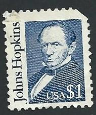 US Scott #2194 $1 Johns Hopkins (1989) Used