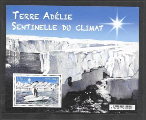 FRENCH SOUTHERN ANTARCTIC TERRITORY #533 (MS)  MNH