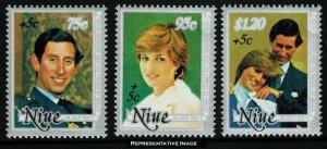 Niue Scott B52-B54 Mint never hinged.