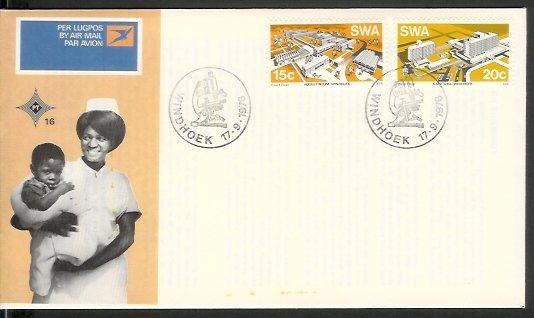 Namibia - 1976 Modern Buildings (FDC)