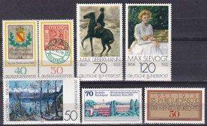 Germany #1277, 1280-85 MNH CV $5.35 (Z7554)