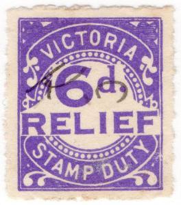 (I.B) Australia - Victoria Revenue : Relief Tax 6d
