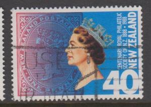 New Zealand Sc#887 Used