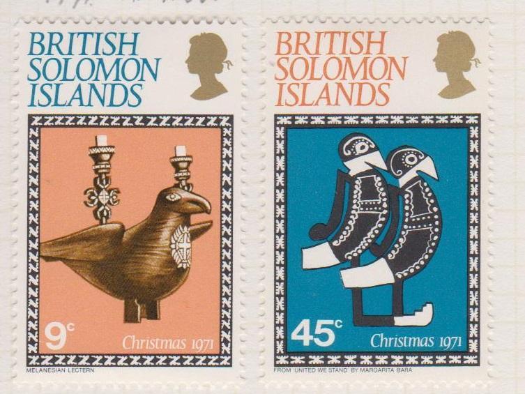 British Solomon Islands Sc#226-227 MH