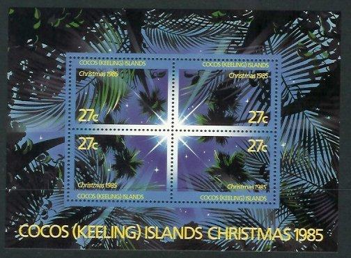 Cocos Is - 1985 Christmas (MNH)