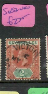 SEYCHELLES  (P2705B)   KGV   2C      SG  82    VFU