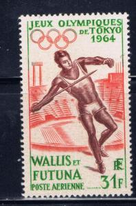 Wallis and Futuna C19 NH 1964 Olympics
