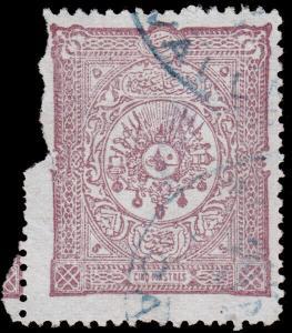 Turkey Scott 99 (1892) Used G, CV $15.00 D