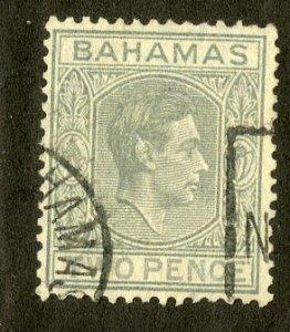 BAHAMAS 103 USED SCV $5.75 BIN $2.35 ROYALTY