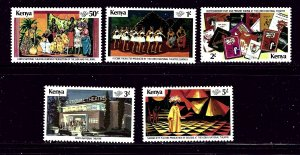 Kenya 146-49 MNH 1979 Salvation Army