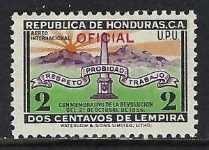 Honduras CO89 MOG Z1606