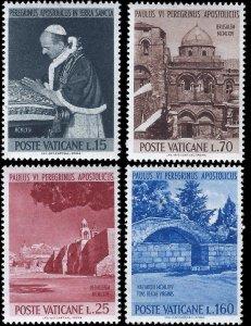 Vatican City 1964 Sc 375-78 MNH VF