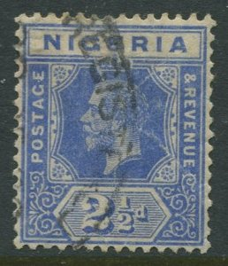 STAMP STATION PERTH Nigeria #4 KGV Definitive FU 1914-27