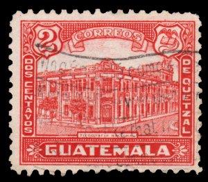 GUATEMALA STAMP 1943 SCOTT # 307. USED. # 5
