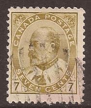 Canada scott #92 used stock #3806