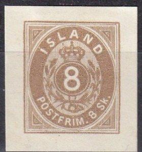 Iceland #3 Unused Reprint (Z6420)