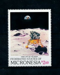 [102296] Micronesia 1989 Space travel weltraum  MNH