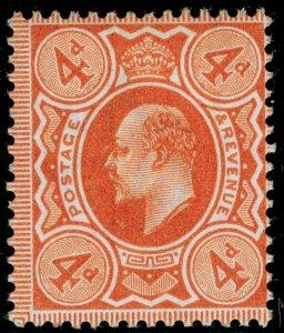 SG241 SPEC M25(3), 4d orange-red, M MINT. Cat £20.
