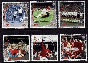 Isle of Man --2006 -Soccer-World Cup  MNH Set  # 1145-1150