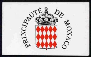 Booklet - Monaco 1989 Old Monaco (Rue ds Spelugues) 20f b...