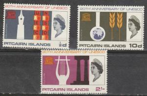 #64-66 Pitcairn Islands Mint OGNH