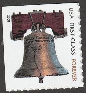 US 4125b Liberty Bell forever single MNH 2008
