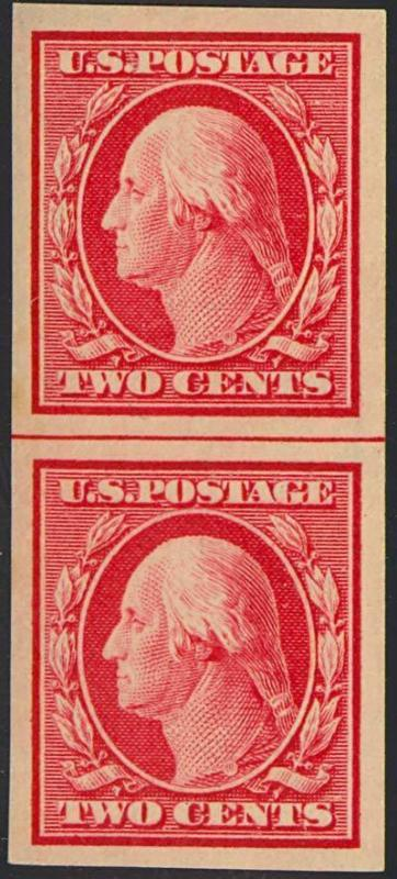 384V, NH WITH HORIZONTAL LAID PAPER - RARE!!!