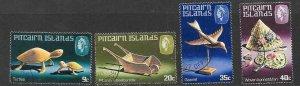 PITCAIRN ISLANDS SG207/10 1980 HANDICRAFTS FINE USED