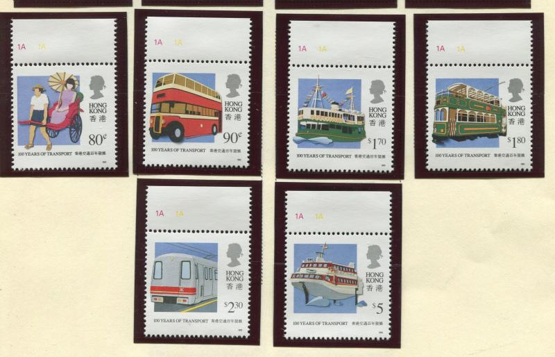 Hong Kong - Scott 594-599 - General Issue - 1991 - MNH - Set of 6 Stamps