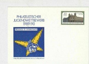 german unused philatelic ex 1989/90 stamps card ref 20671