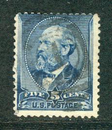 United States Scott # 216, used