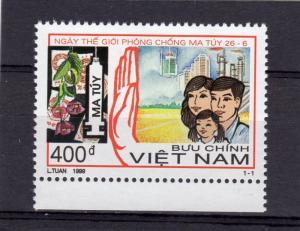 Vietnam 1999 Sc#2908 Intl.Day to Stop Drug Abuse Set (1) MNH VF