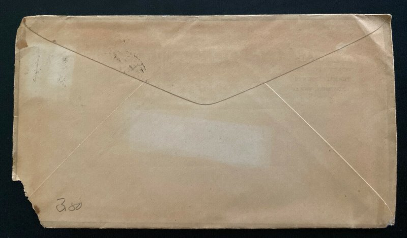 1890s Sanderson TX USA Advertising County Attorney Folsom Cover To Clinton MR