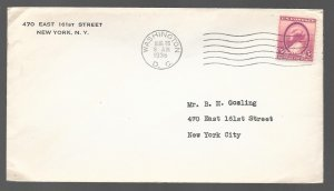 USA 784: 3c Susan B Anthony, First Day Cover, addressed