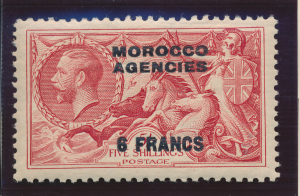 Great Britain, Offices In Morocco Stamp Scott #436, Mint Hinged - Free U.S. S...