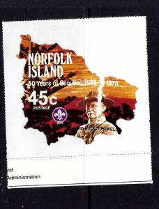 Norfolk Is 234 MNH 1978 small souvenir sheet