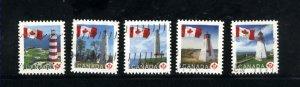 Canada #2249-53B  -2  used  VF 2007 PD