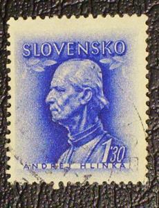Slovakia Scott #94A used
