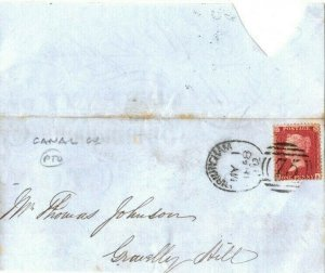 GB Cover CANAL Co Birmingham Part Contents 1858 {samwells}EP49