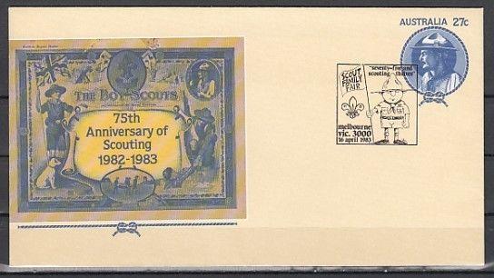 Australia, 16/APR/83 cancel. Scout Family Fair. Postal Envelope. ^