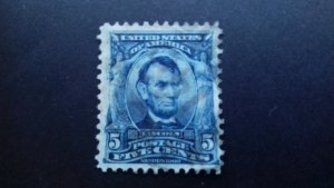United States 1902 -1903 Presidents & Other Famous People Used